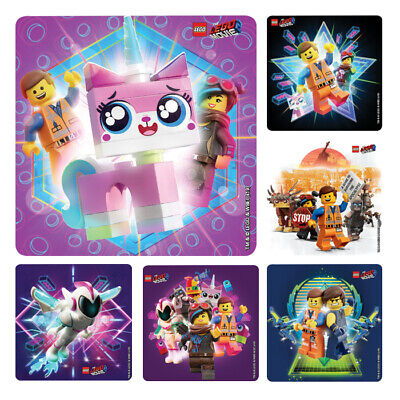 25 LEGO The Movie: part 2   Stickers Party Favors Teacher Supply Vest friends - The Lego Movie Party Supplies