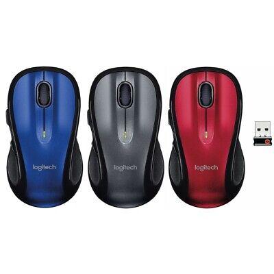 Logitech M510 Komfortable Laser Maus für PC & Mac mit Unifying Empfänger