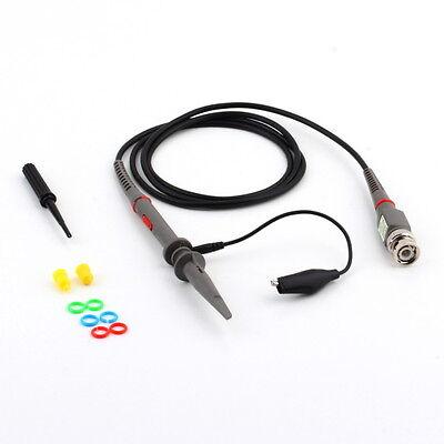 P6100 Oscilloscope Probe 100mhz Bandwidth Passive Clip