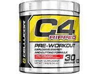 Cellucor C4 Ripped 180g Tub -30 Servings