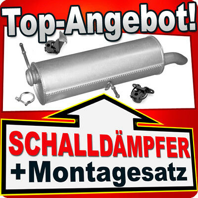 Komplette Auspuffanlage ab Kat Montagesatz PEUGEOT 307 1.6 16V Kombi 2002-2007