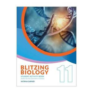 Blitzing Biology 11 Student Activity Book NEW