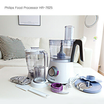 Philips Food Processor Blender Mixer Kitchen Small Appliance 2L HR-7761