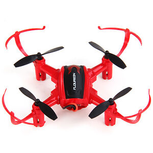 Super Flight Drone Family 4 Pack with extra batteries & blades