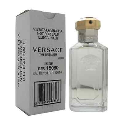 Versace The Dreamer For Men 3.4 OZ 100 ML Eau De Toilette Spray Brand New Tester