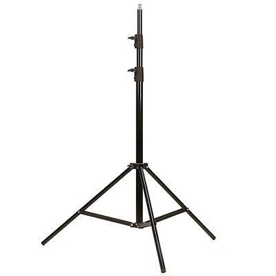 Photo Studio 2.6m 8.5ft Light Stand Adjustable Tripod for Softbox Flash Lighting