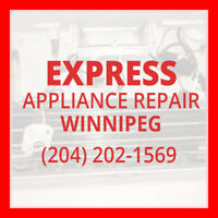 ★Express Repair Winnipeg  ★ - (204) 202-1569