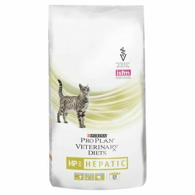 Purina Pro Plan Feline Veterinary Diets Dry Cat Food HP Hepatic, 1.5kg