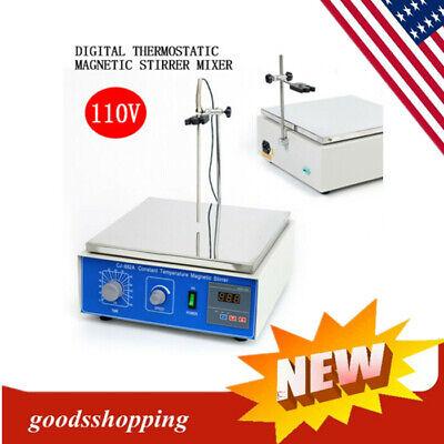 10 L Digital Thermostatic Magnetic Stirrer Mixer With Hotplate 110v