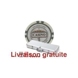 Ensemble de jetons de poker / Casino Se Chips Set 500 Pcs 11.5gr