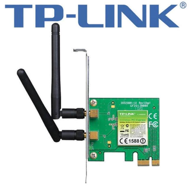 TP-Link TL-WN881ND Wireless / Funk  N PCI-e Adapter Netzwerkkarte 300Mbps
