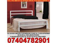 BRAND NEW Single/Double/Small Double City Block Metal Bed Frame with choice of mattresses