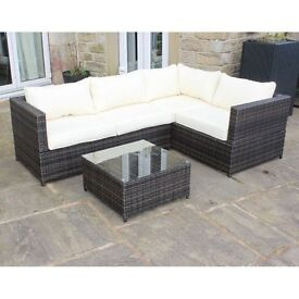Rattan Outdoor Sofa Set Deposit £36.50 Payments £27.37 x 12 months 0% APR