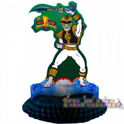 Power Rangers Birthday Party (POWER RANGERS VINTAGE HONEYCOMB CENTERPIECE ~ Birthday Party Supplies)