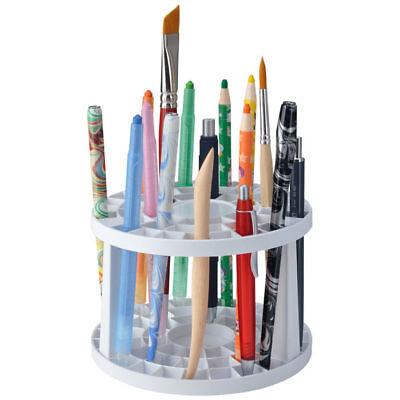 NEU Stifte- und Pinselhalter aus Kunststoff, rund