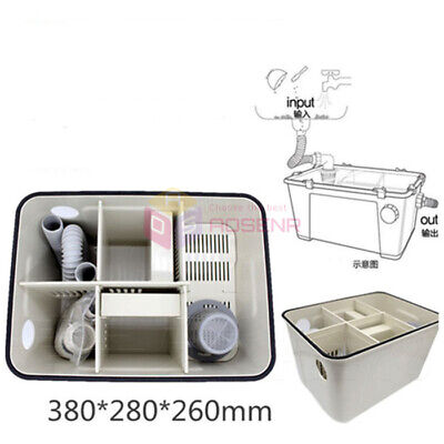 Dental Lab Equipment Plaster Powder Trap Filter Gypsum Sedimentat Tank