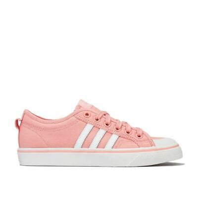 Women's adidas Originals Nizza Cushioned Breathable LIghtweight Trainers in Pink