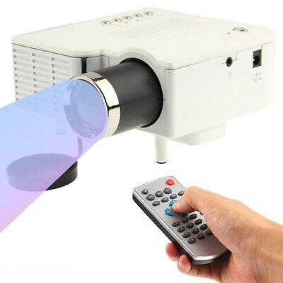 A30 MINI LED Laser Projektor Beamer Cinema Heimkino HD 1080p USB SD AV HDMI VGA