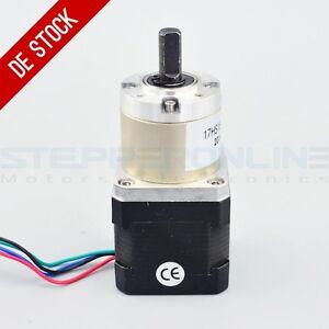 Planetengetriebe 27:1 Nema 17 Stepper Motor 1.68A Schrittmotor CNC 3D Printer