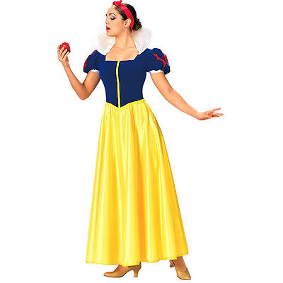 Snow White Costume Women Halloween Adult Princess cosplay Fancy Dress Hot - Snow White Womens Costume