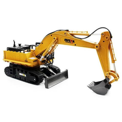 RC Excavator Car 2.4G  Metal Remote Control Engineering Digger Truck Model 1/16