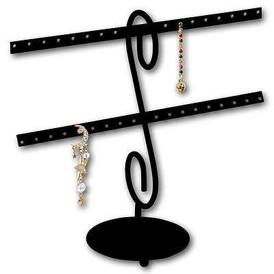 Wire Earrings Display Stand Metal Earring Display Showcase Displays Upto 16-pair