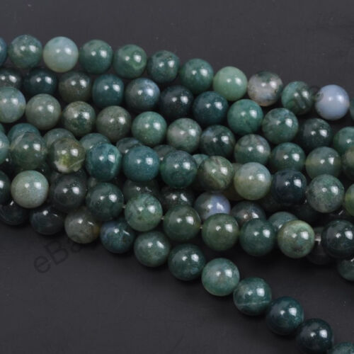 Wholesale Natural Gemstone Round Spacer Loose Beads 4MM 6MM 8MM 10MM 12MM