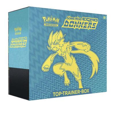 Pokemon Echo des Donners Top Trainer Box - Deutsch - OVP