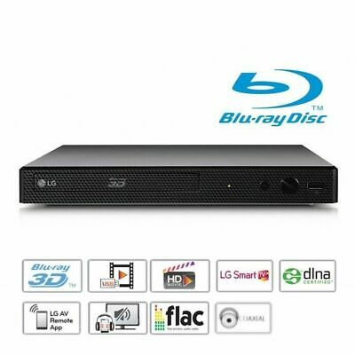 LG BP450 Lecteur Blu-ray 3D DVD Full HD USB Smart TV -...