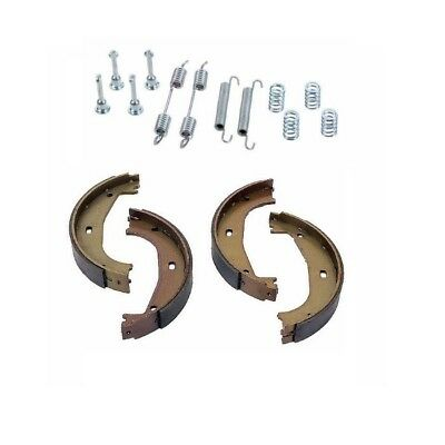 Brake Brake Shoe Set (BMW E36 318 323 325 Brake Shoe Set for Parking Brake + Brake Hardware)