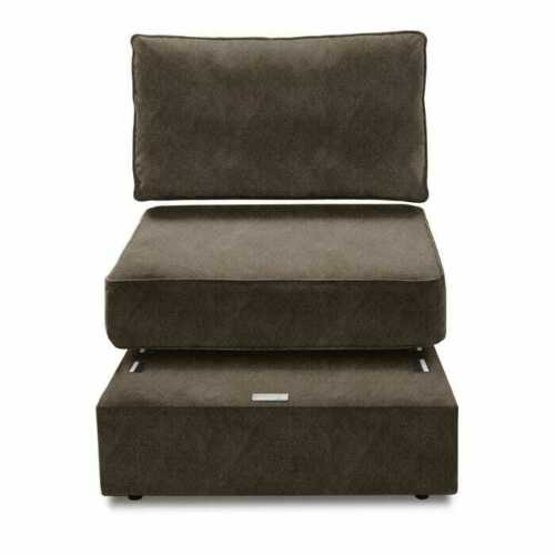Sactional Cover Set - 3 Seat + 5 Side Covers, Graphite Corde