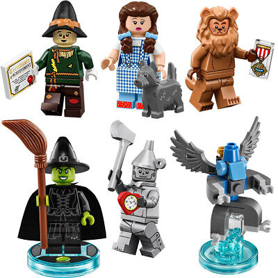 LEGO 71023 Wizard of Oz Dorothy Scarecrow Tin Man Cowardly Lion Wicked Witch
