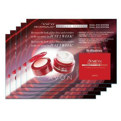 Avon Anew Reversalist Complete Renewal Express Dual Eye System Samples (10) New!
