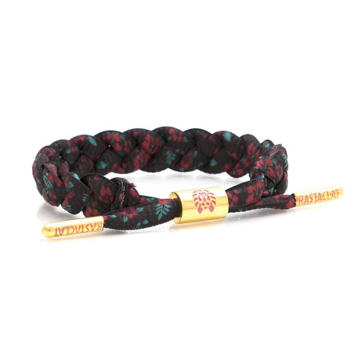 Brand New RASTACLAT Poinsettia Floral Exclusive Shoelace Bracelet