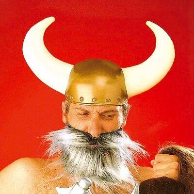 HÖRNER WIKINGERHELM # Karneval Fasching Wikinger Wilder Hörnerhelm Helm Hut 2810 ()