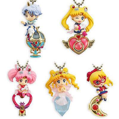 5pcs/set Sailor Moon Twinkle Dolly Charm Keychain Series 4 Figure Keychain New