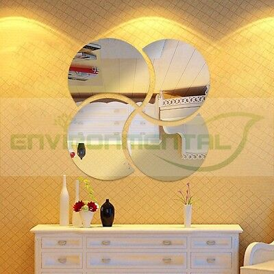 Petals Modern Best Acrylic Plastic Mirrors Wall Art ROOM Decal Decor