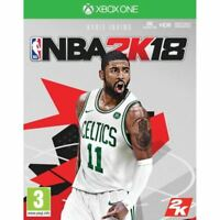 NBA 2K18  for xbox one - used- perfect condition