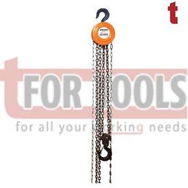 Silverline 868692 Chain Block 2 Tonne - 3m Height