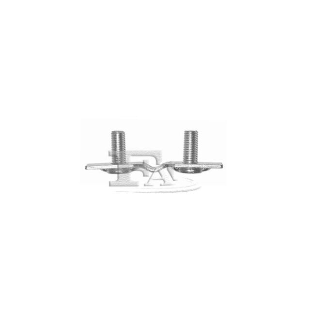 FA1 Holder, exhaust system 144-909