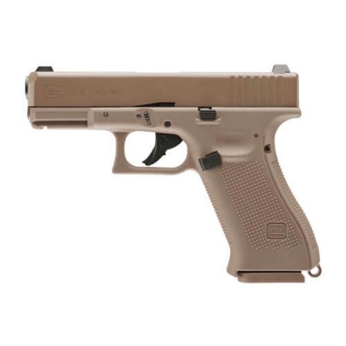 Umarex Glock 19X .177 Air Pistol 18 Round Flat Dark Earth Blow Back 2255212