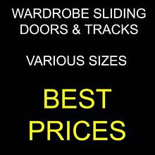 WARDROBE SLIDING DOORS * VARIOUS SIZES * BEST PRICES - A Penrith Penrith Area Preview
