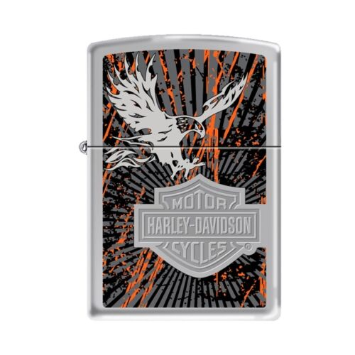 Collectable Fancy  Harley Davidson Eagle  ZIPPO LIGHTER 77819