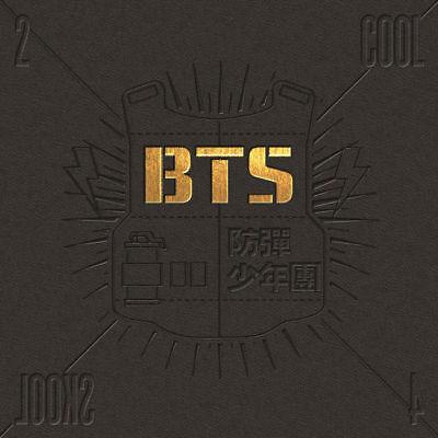 BTS [2 COOL 4 SKOOL] 1st Single Album CD+Photo Book K-POP SEALED