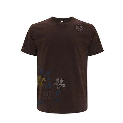 Chocolate Brown T-shirt (Shibui Surf & Skate Ikebana Chocolate Brown T-shirt Limited Edition)