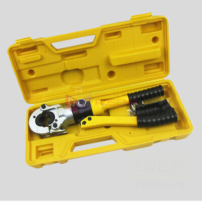 Hydraulic Pex Pipe Tube Crimping Tool 10t Pipe Pressing Kit Clamping Tool Cw1632