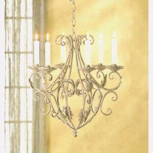 Old chandelier ebay old world chandelier elegant candle holder wedding hanging decor mozeypictures Image collections