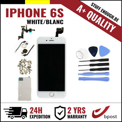 A+ LCD TOUCH SCREEN/SCHERM/ÉCRAN FULL ASSEMBLY WHITE BLANC + TOOLS FOR IPHONE 6S