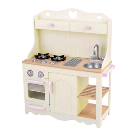 Big wooden play kitchen KidsKraft