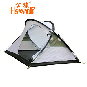 Winter hewolf outdoor tent double layer camping tent